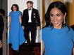 Glowing Meghan's baby bump on show at Fiji banquet dinner