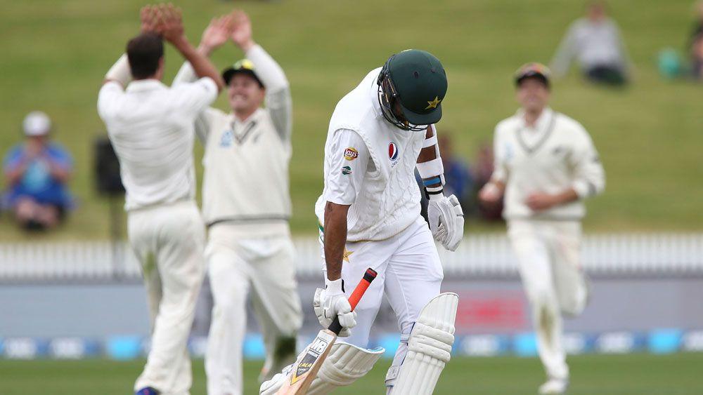Pakistan collapse hands NZ 'sweet' win