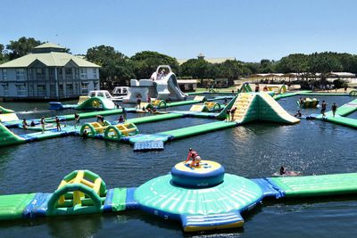 <strong>2. Aqua Fun Park – Twin Waters, Queensland</strong>