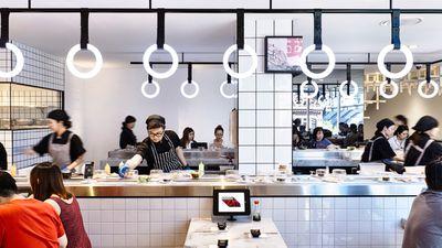 Tetsujin Bar & Restaurant, Melbourne VIC - nominated for best identity design