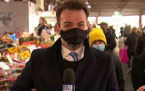 Why TV journalists are exempt from wearing masks on camera