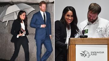 To-be-royal Meghan avoids awkward mix-up at awards night