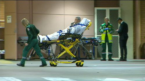 A father and son are among 14 people injured. (9NEWS)