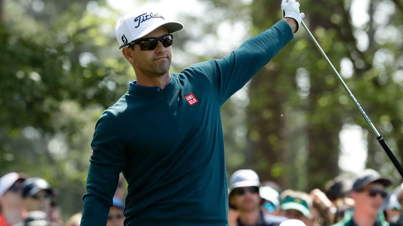 Scott struggles on day two at the Masters