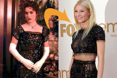 Weird fact #3: Gwyneth Paltrow reportedly wanted the role of Rose! We assume she was turned down due to a severe lack of neccesary early 20th-century voluptuousness, which Kate Winslet had in spades.