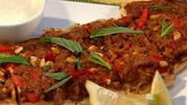 Easy Turkish Lamb Pizza