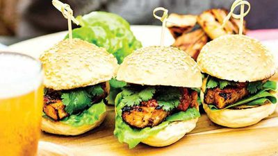 "Recipe:&nbsp;<a href=""http://kitchen.nine.com.au/2017/02/17/07/07/buns-with-barbecued-pork-belly-and-chilli-jam"" target=""_top"">Buns with barbecued pork belly and chilli jam</a>"