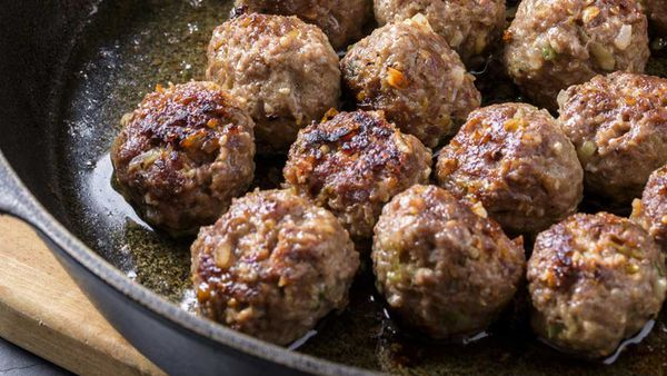 Simple meatballs