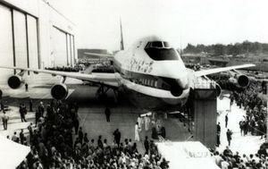 TODAY IN HISTORY: World's first Boeing 747 debuts