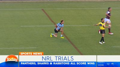 Former NRL bad boy Matt Lodge dominates for Brisbane Broncos in trial demolition of Gold Coast Titans