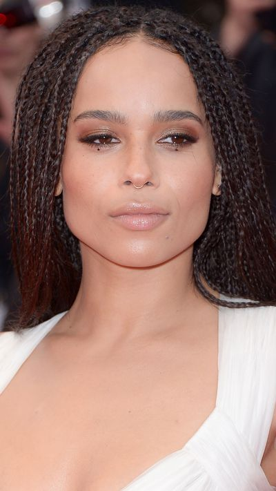 <p><strong>Zoë Kravitz</strong>'s make-up was minimal, especially by Cannes standards.</p>