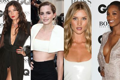 <i>Harry Potter</i> star <b>Emma Watson</b> led the pack of hot models and A-list celebs at the GQ Men of the Year Awards for 2013. <br/><br/>The dresses were risky, with some celebs showing off toned abs, while others revealed a lot of mid-boob. Especially the usually demure <b>Daisy Lowe</b>, who had a wardrobe malfunction involving a camel toe knickers flash. Yikes! Was that intentional Daisy?<br/><br/>Scroll through the pics to find out what the celebs wore on the red carpet and after parties of the GQ Men of the Year Awards.