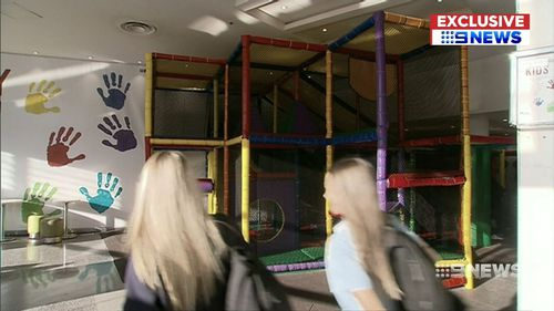 The Penrith jungle gym where the kidnapping occurred. (9NEWS)