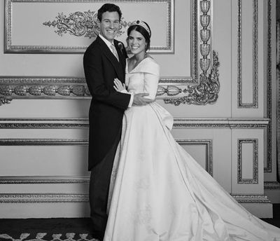 Princess Eugenie shares new photo from her wedding, November 2018