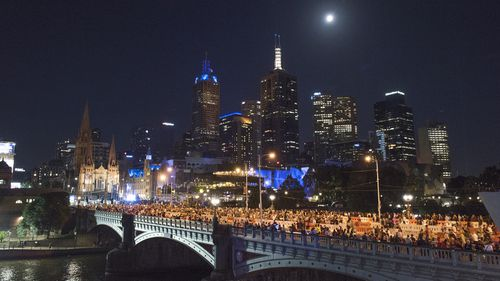 More than 350,000 are expected to flock to Melbourne's CBD for Victoria's fireworks display.