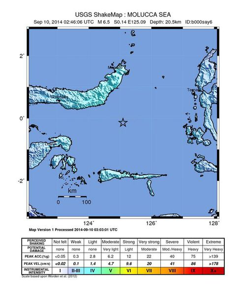 Strong earthquake strikes in Indonesia, no tsunami threat