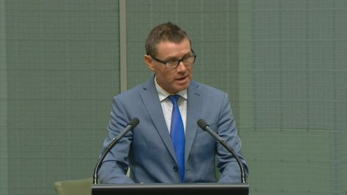 Andrew Laming MP apology in Parliament House