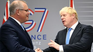 Scott Morrison says the world is paying attention to what Australia is doing after talking trade and strategic issues with leaders at the G7 summit in France.