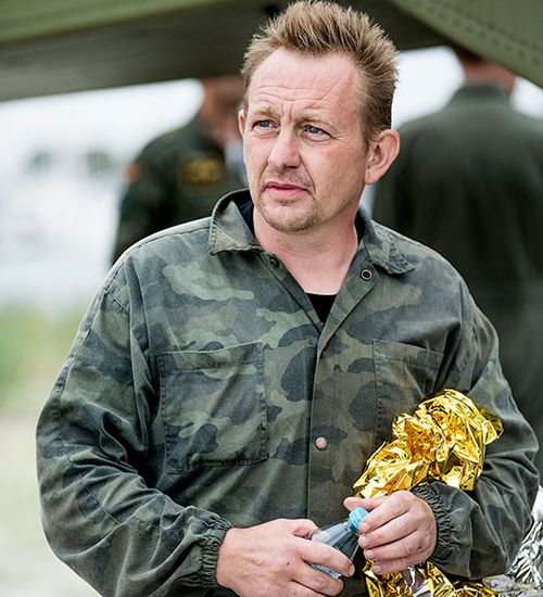 Peter Madsen claims Kim Wall died accidentally inside the submarine in August last year. (AAP)