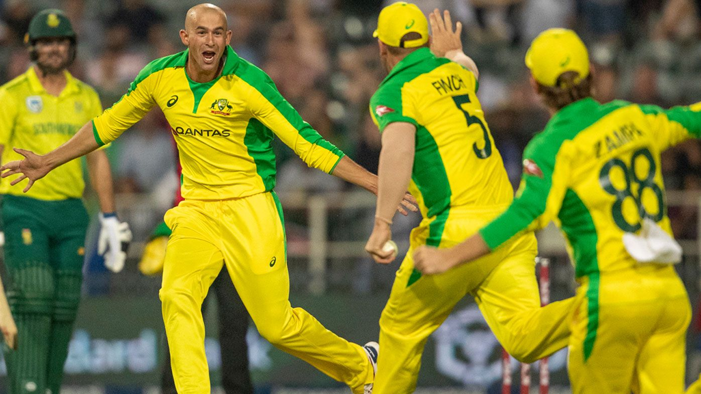 Aussies down SA in first T20