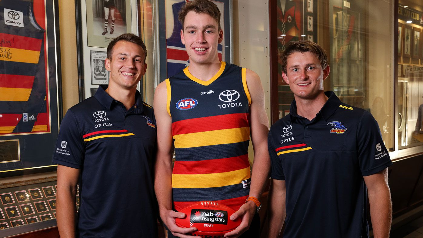 Crows picked local in AFL draft as they're 'spooked' by player exits, greats claim