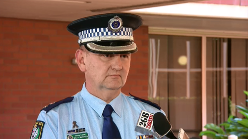 NSW Police Superintendent Brett McFadden confirmed the two victims were made aware of the footage by friends and family last weekend before contacting police.