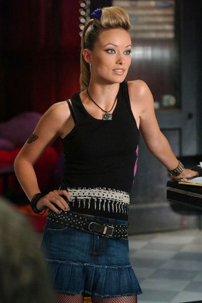 Not so much an iconic style moment as it is iconic. A pre-fame Olivia Wilde played rocker and Marissa's love interest, Alex Kelly.