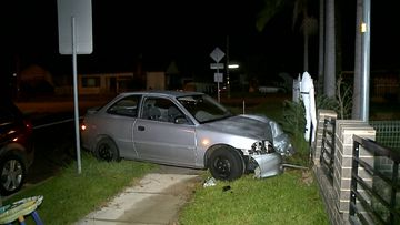 The vehicle was reported as stolen from an address in Smithfield in late January.