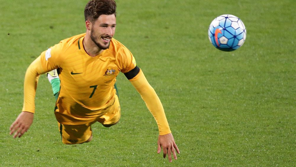 Matthew Leckie has enjoyed a great time under the coaching of Ange Postecoglou. (Getty Images)