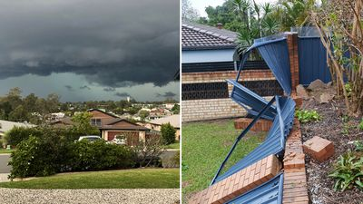 More rain expected after wild weather lashed Queensland's south-east