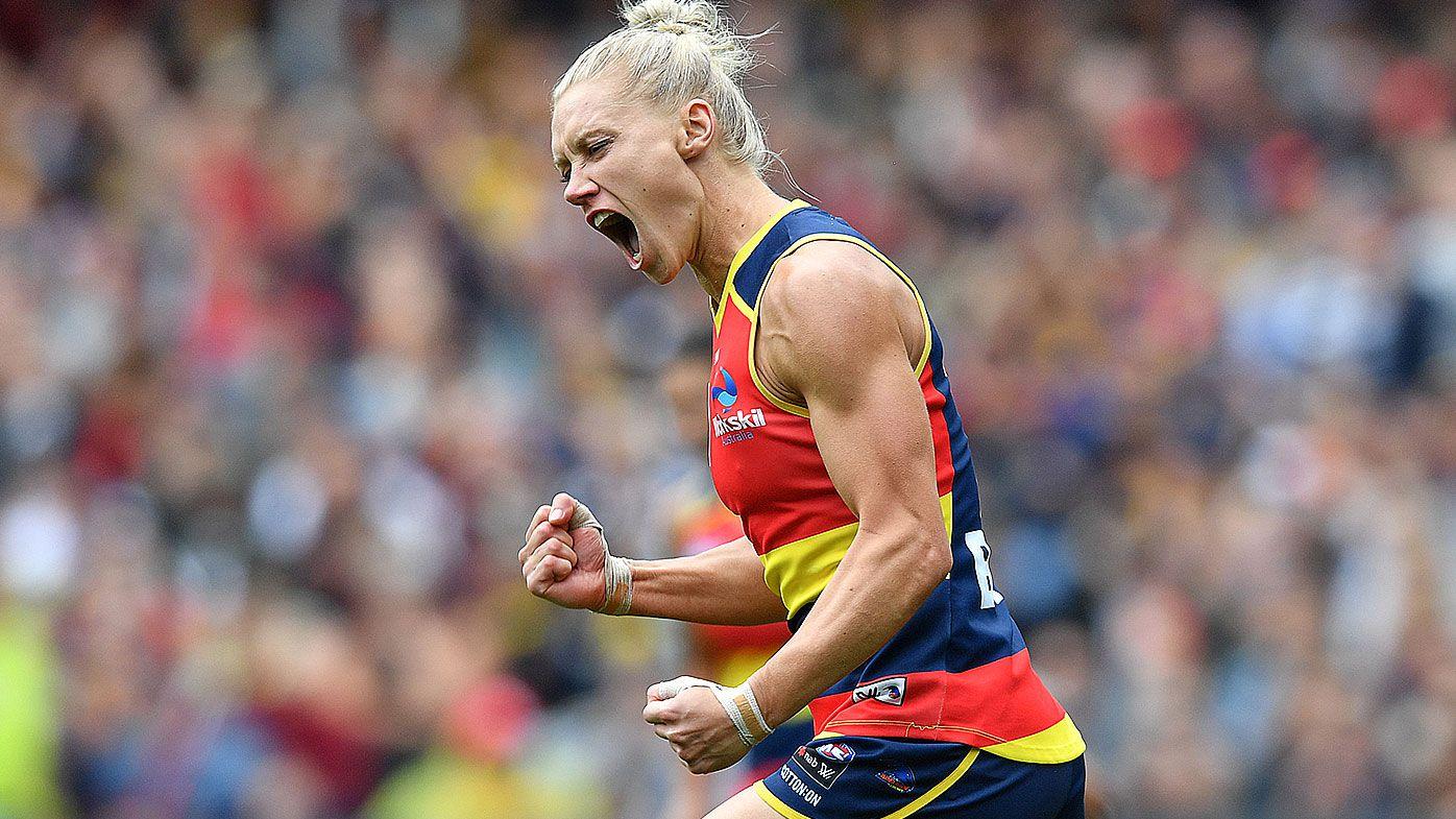 Adelaide Crows star Erin Phillips named AFLW Players' Association MVP