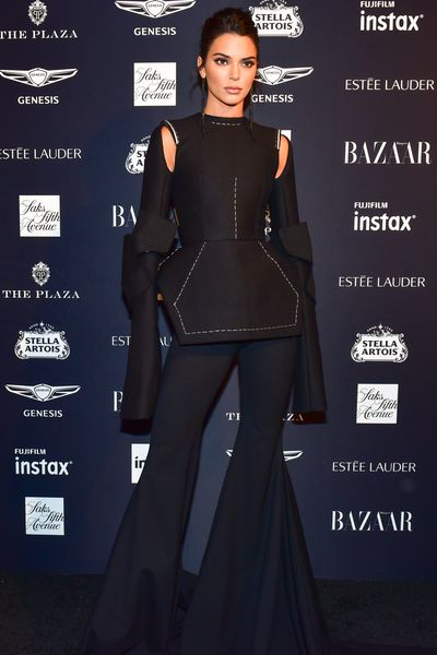 Model Kendall Jenner at the Harper's Bazaar Icons party in New York, September, 2018