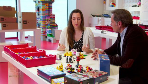 Australian Melody Caddick is a designer for Lego.