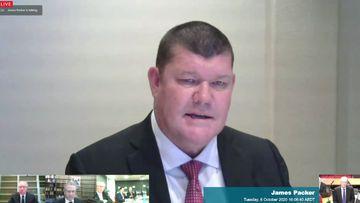 James Packer admits threatening mystery businessman