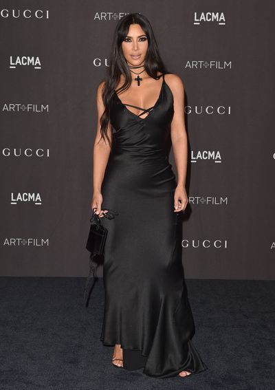 Kim Kardashian at the 2018 LACMA Art + Film Gala in Los Angeles, November, 2018