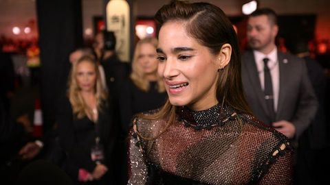 The Mummy's Sofia Boutella talks licking Tom Cruise's face