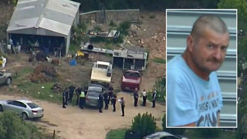 Gene Charles Bristow and the South Australian property where he allegedly abducted and raped a female backpacker.
