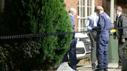 The bodies were found outside a Nunawading home.
