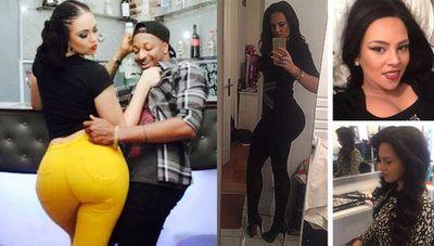Nigeria's Kim Kardashian…who's actually Colombian