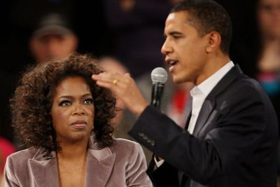When Barack Obama appeared on her talk show in 2006, Oprah urged him to run for President. She then hosted a 1500-guest fundraiser and made four campaign appearances with him. While it was alleged to negatively impact her ratings, two University of Maryland economists concluded that Oprah's endorsement resulted in a net gain of 1,015,559 primary votes for Obama, allowing him to clinch the nomination.