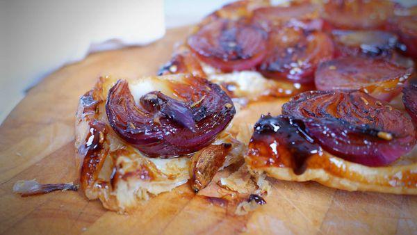 9Honey Quarantine Kitchen: The caramelized onion tart you need to try