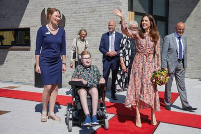 Crown Princess Mary opens new children's hospice, June 2021