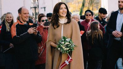 Princess Mary attends 175th anniversary of one of Denmark's oldest universities.