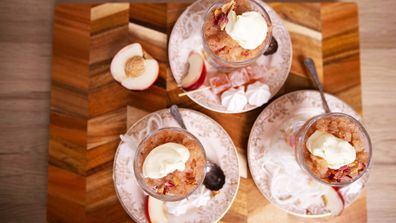 White peach granita is the snow cone for grown-ups