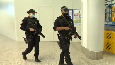 Despite last year's COVID-19 shutdown, in the past 12 months, the AFP attended over 7250 incidents at Melbourne Airport
