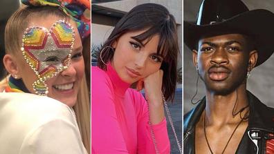 JoJo Siwa, Rebecca Black, Lil Nas X