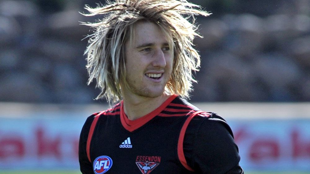 Dyson Heppell has been tipped to take over as Essendon captain. (AAP)