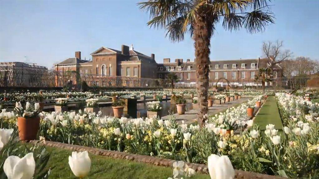 The White Garden Kensington Palace