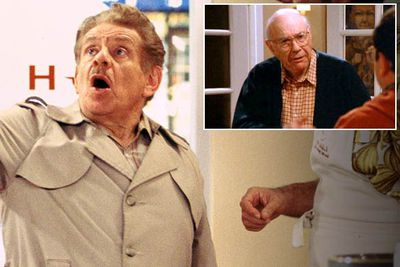 <B>Originally played by:</B> John Randolph (inset).<br/><br/><B>Replaced by:</B> Jerry Stiller.<br/><br/><B>The substitution:</B> Only hardcore <I>Seinfeld</I> fans would notice, but George's father was actually played by someone other than Jerry Stiller in his first appearance on the show. After series co-creator Larry David decided the more gentle John Randolph wasn't quite right for the role, Frank Costanza was recast with the much more aggressive Stiller. Randolph's scenes were later re-shot with Stiller, and both versions can be found on the season-three DVD boxset.