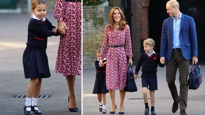 Princess Charlotte's first day of school, September 2019